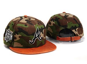 Atlanta Braves MLB Snapback Hat YX102